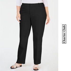 Charter Club Plus Size Newport Straight-Leg Pants